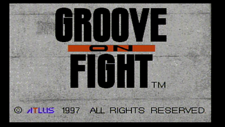 groove on fight title screen
