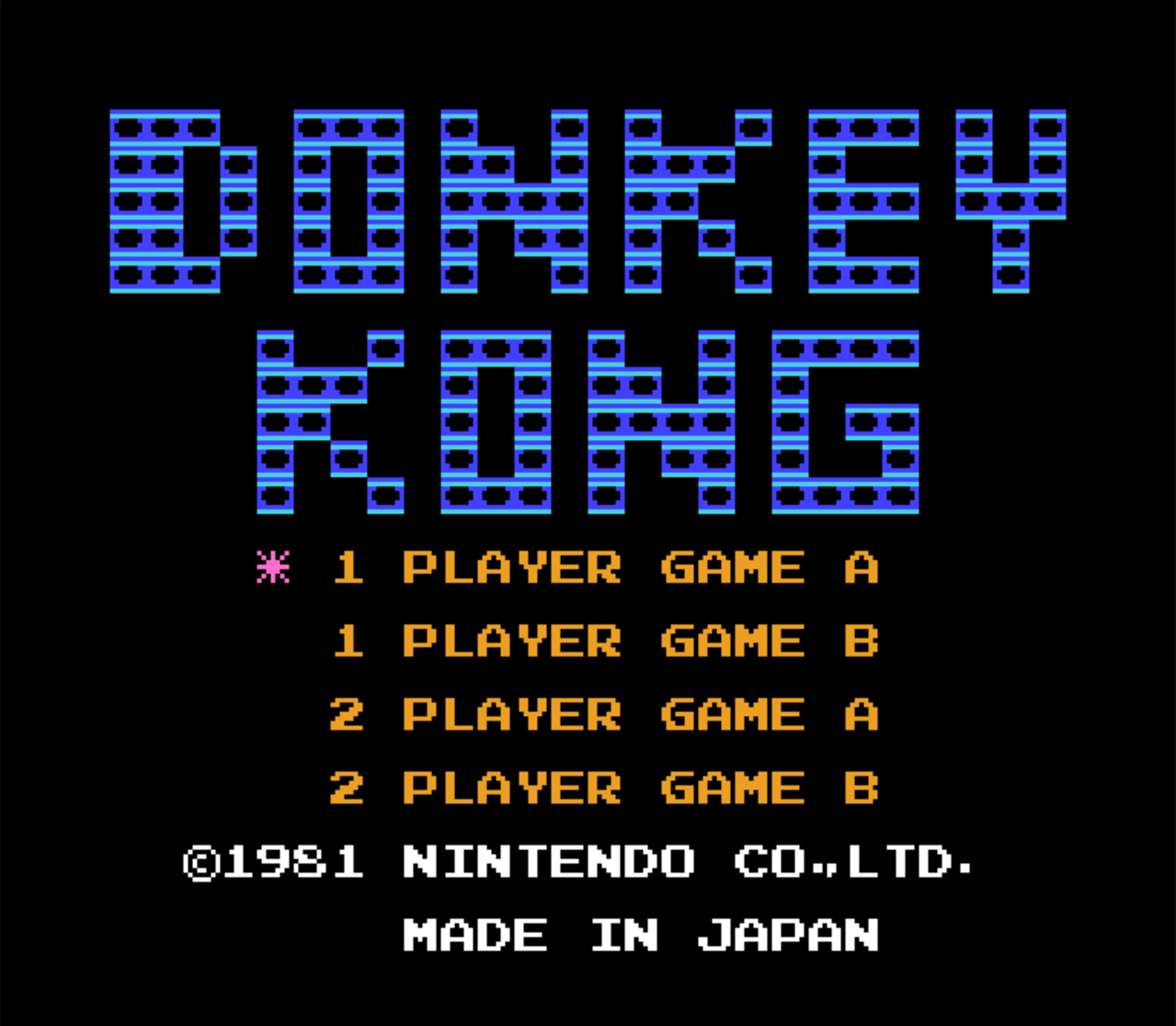 classic nes review donkey kong retro cemetery. Black Bedroom Furniture Sets. Home Design Ideas