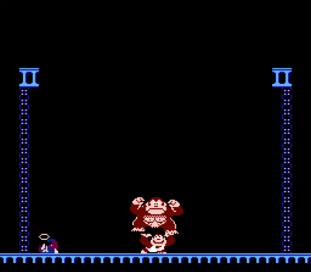 Classic Nes Review Donkey Kong Jr Retro Cemetery