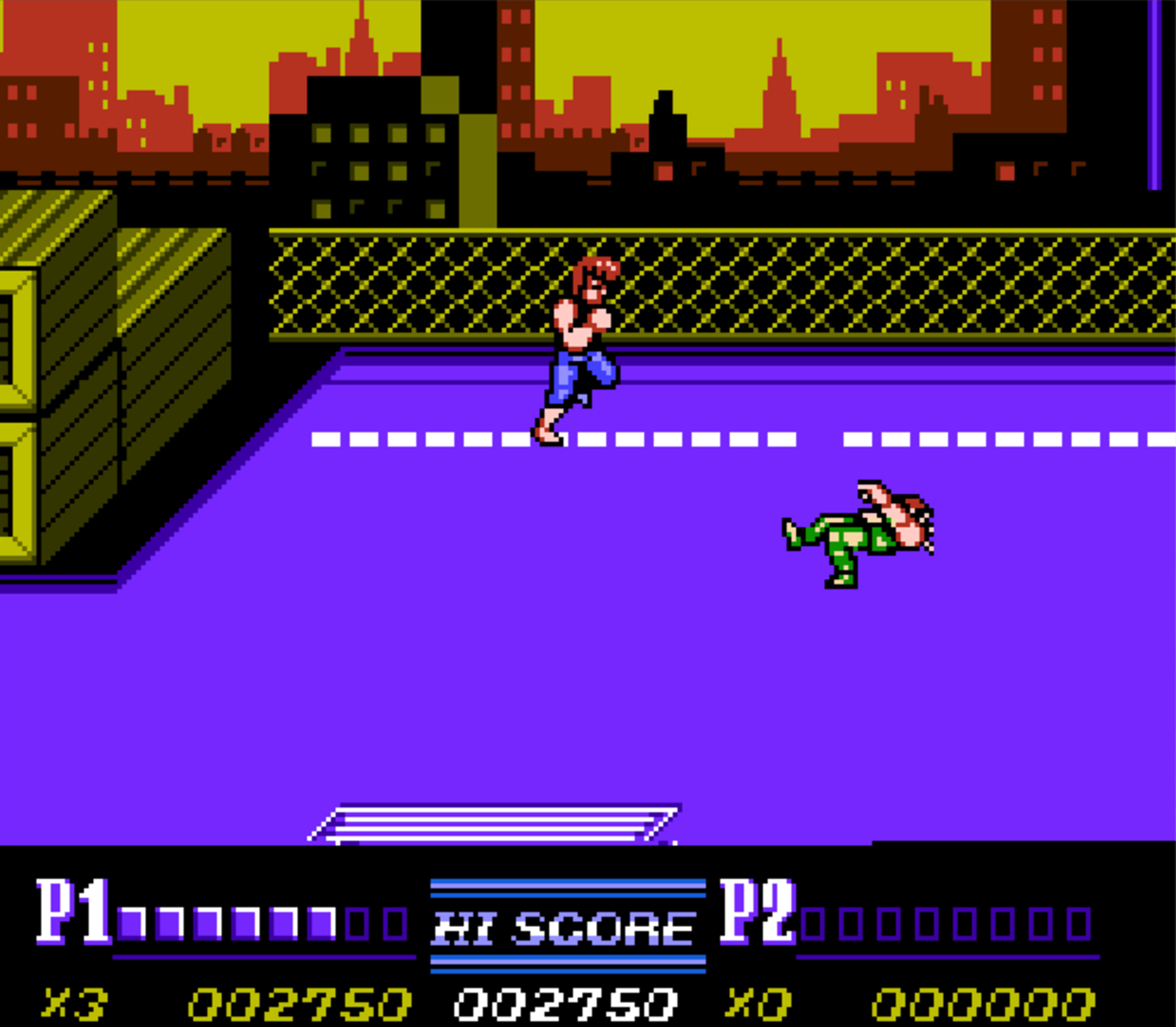 Classic Nes Review Double Dragon Ii The Revenge Retro Cemetery