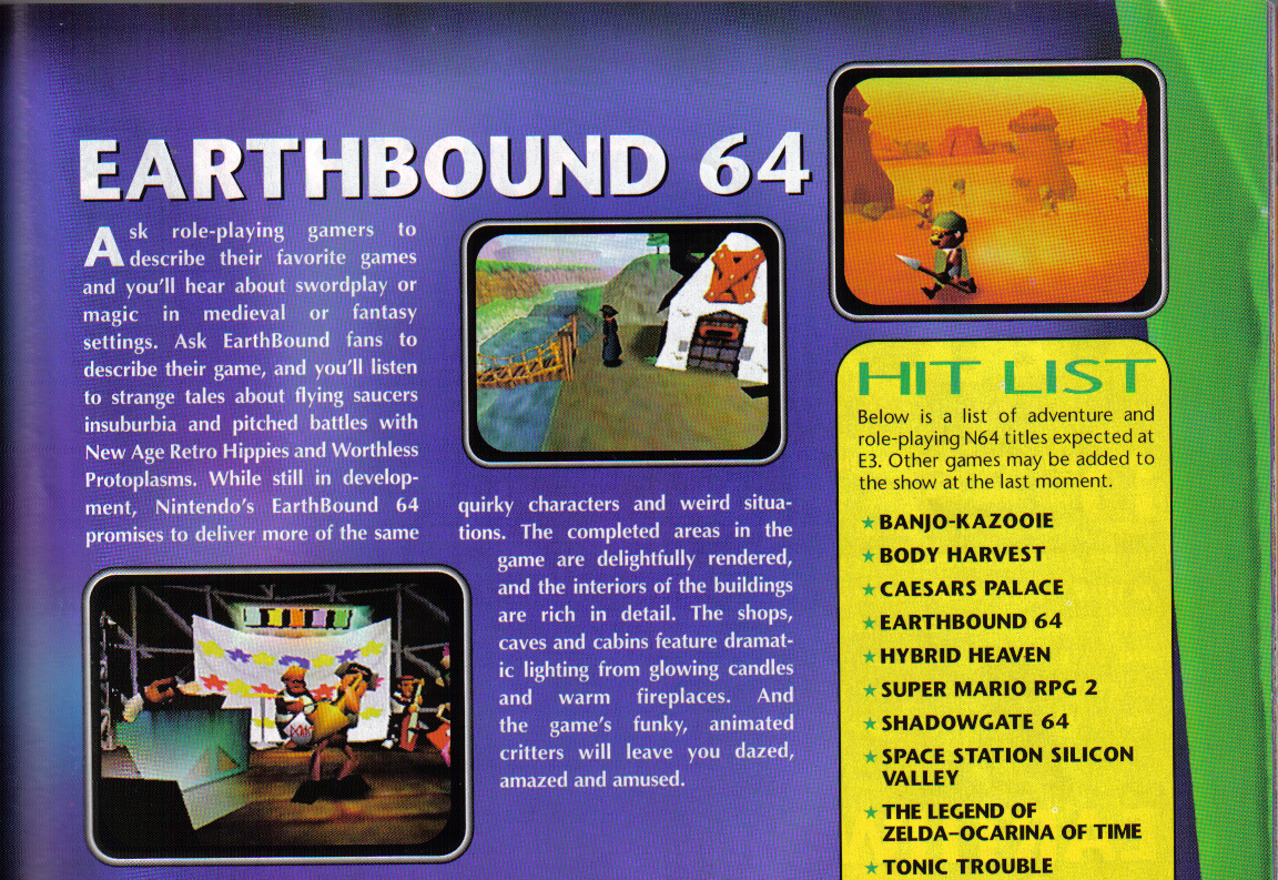 Mother 3 on Switch? How about Earthbound 64? - Retro Cemetery