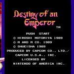 Destiny of an Emperor, aka Tenchi Wo Kurau